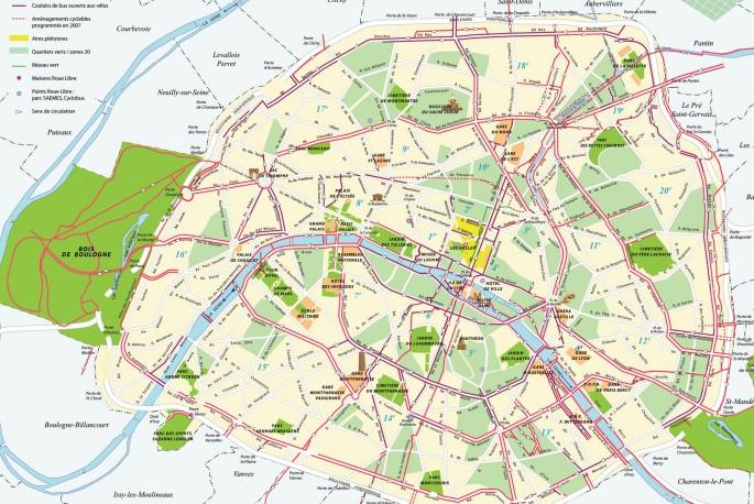 Roteiros Paris